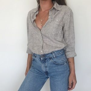 [Chico's] linen button-down
